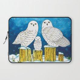 Noah's Ark - Snowy Owl Laptop Sleeve