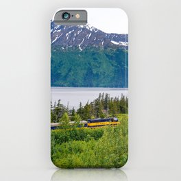 Alaska Passenger Train - Bird Point iPhone Case