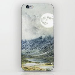 Supermoon in Norway iPhone Skin