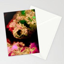100 Starry Nebulas in Space 039 (Portrait) Stationery Cards