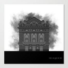 HexArchi - Portugal, Porto, Teatro Nacional São João Canvas Print