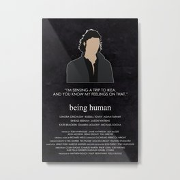 Being Human - John Mitchell Metal Print