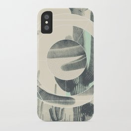 Saguaro Sun iPhone Case