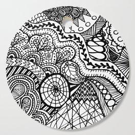 Doodle2 Cutting Board