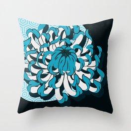 flow_c Throw Pillow
