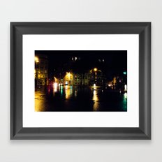 Cool Parisian Evening Framed Art Print