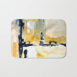 Landscape with Argonauts - Abstract 0027 Bath Mat