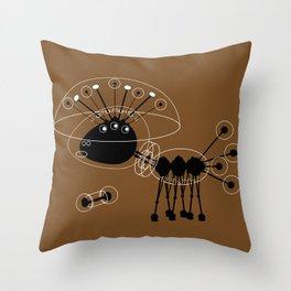 DBM ROBOT U1 SPACEDOG Throw Pillow