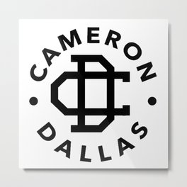 Cameron Dallas Metal Print
