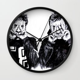 Josh and Tyler Wall Clock