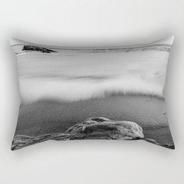 The Tide Returning Rectangular Pillow
