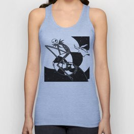 nightmare before christmas Unisex Tank Top
