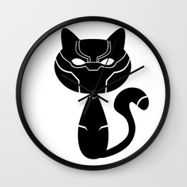 catpanther Wall Clock