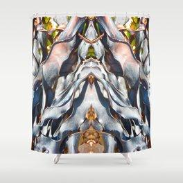 Alga Texture Shower Curtain