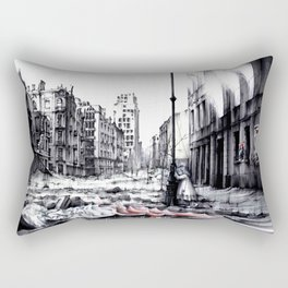 THE DEATH OF WARSAW Rectangular Pillow