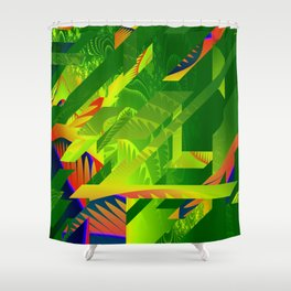 Great Green Frac 1 Shower Curtain
