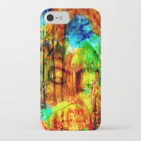 meditation iPhone & iPod Cases featuring  Meditation by shiva camille