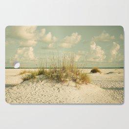 Tropical Beach Vibes Cutting Board
