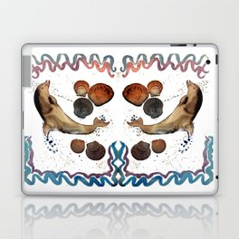 Dolphin jumping Laptop & iPad Skin