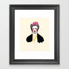 Frida Kahlo II Framed Art Print