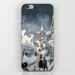 Snowy Hogsmeade iPhone Skin