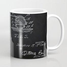 Gibson Guitar Patent Les Paul Vintage Guitar Diagram Coffee Mug