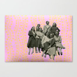 The Unmarried Club Canvas Print