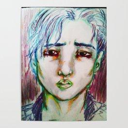 Boy Portrait (Bo in living color) Poster