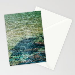 Waters of Sand Harbor. Lake Tahoe. California. USA Stationery Cards