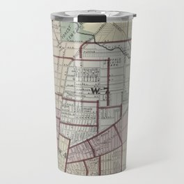 Vintage Map of Buffalo NY (1872) Travel Mug