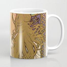 Alfons Mucha - Job 1896 - Digital Remastered Edition Coffee Mug