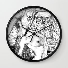 asc 707 La rivière de nacre (The Jackhammer) Wall Clock