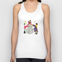 snowman Tank Tops featuring Snowman by Design4u Studio