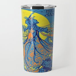 The Valley of Color Days Book Travel Mug