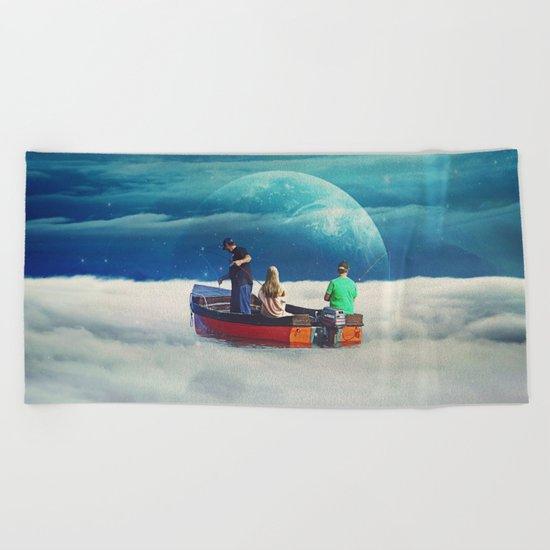 In The Same Boat Beach Towel