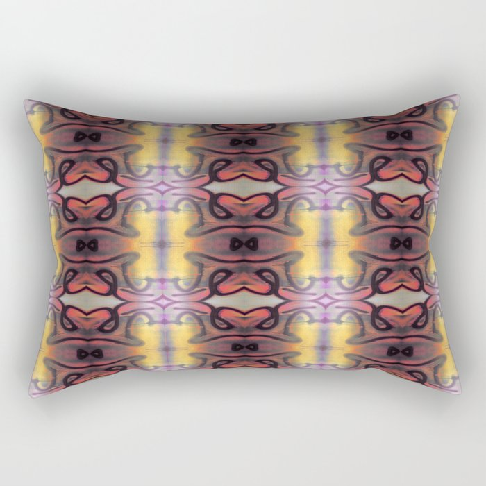 Tribal Totems Rectangular Pillow