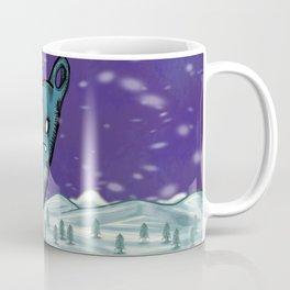 In The Winter I Stand Alone Coffee Mug
