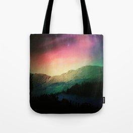 Scottish Mountains Tote Bag