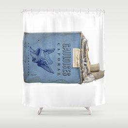 Gauloises 20 Cigarettes France Vintage Pack 1968 Shower Curtain