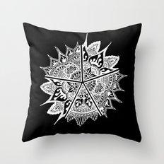 Mandala Etoiles Throw Pillow
