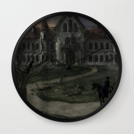 The Fall of the House of Usher Wall Clock