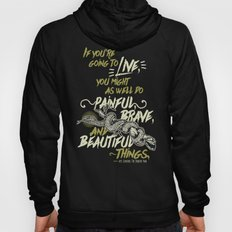 If You're Going To Live - The Serpent King Hoody