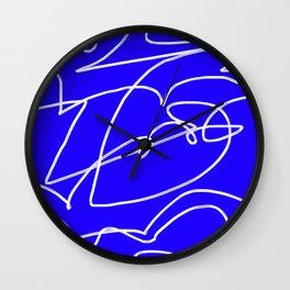 Squiggle 02 Wall Clock