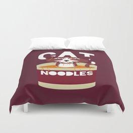 Cat Noodles Duvet Cover