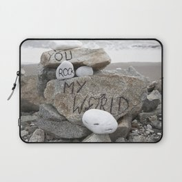 You rock my world Laptop Sleeve