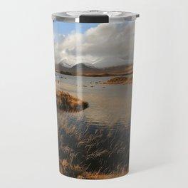 Rannoch Moor Landscape of Scotland Travel Mug