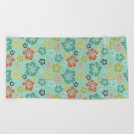 Hibiscus Love Beach Towel