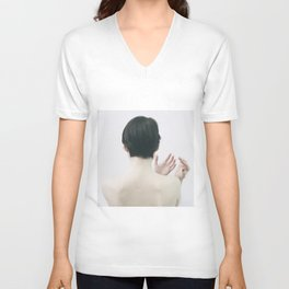 honey Unisex V-Neck
