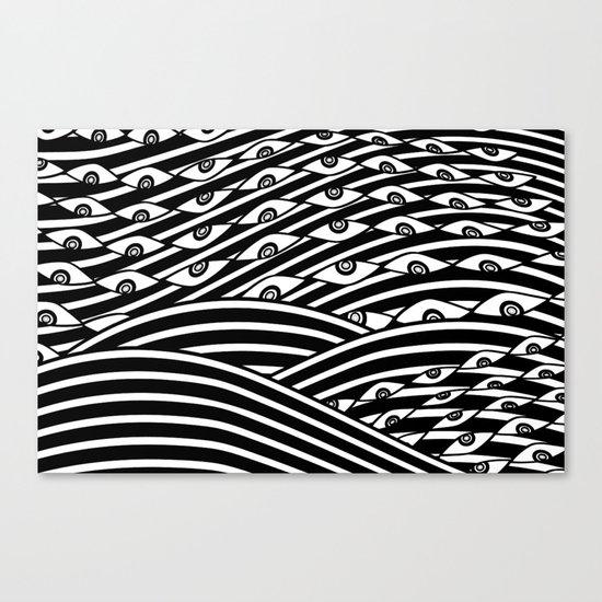 """""""Amok"""" by Drew Litowitz Canvas Print"""