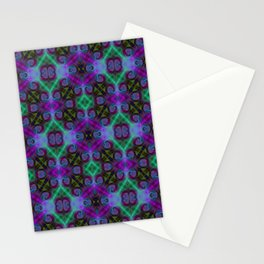 Tryptile 27b (Repeating 1) Stationery Cards